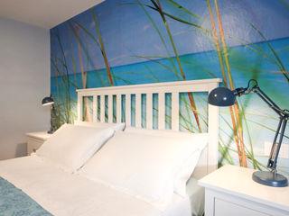 Arch. Sara Pizzo - Studio 1881 Mediterrane Schlafzimmer Holz Blau