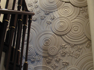 Таун-хаус на Никулинской АРХИТКЕТУРНОЕ БЮРО 'IKRA-DESIGN' Стены и полНастенный декор