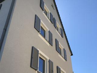 Bauen im Bestand (Projekt 193) Karl Kaffenberger Architektur | Einrichtung Fensterläden Holz Grau