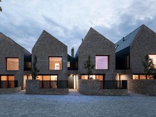 Woodside Mews TAS Architects Reihenhaus