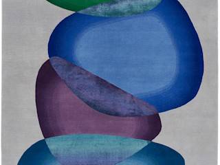 Deirdre Dyson 2020 LOOKING GLASS Collection Deirdre Dyson Carpets Ltd Walls & flooringCarpets & rugs Wool Blue