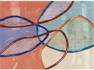 Deirdre Dyson 2020 LOOKING GLASS Collection Deirdre Dyson Carpets Ltd Walls & flooringCarpets & rugs Wool Multicolored