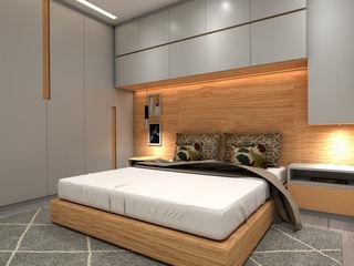 Apartamento em Lyon Angelourenzzo - Interior Design Quartos escandinavos
