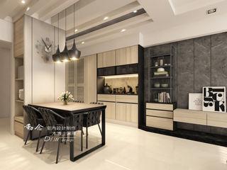 櫻花孩子王 木博士團隊/動念室內設計制作 现代客厅設計點子、靈感 & 圖片