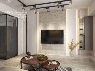 晴園 木博士團隊/動念室內設計制作 现代客厅設計點子、靈感 & 圖片