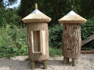 Bienenhaltung in Klotzbeute Holzbau Bohse Klassischer Garten Holz