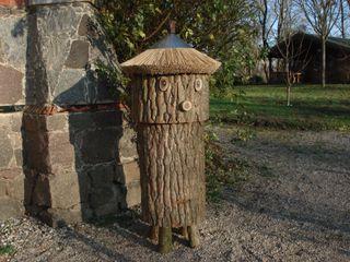 Klotzbeute mit Honigraum Holzbau Bohse GartenMöbel Holz