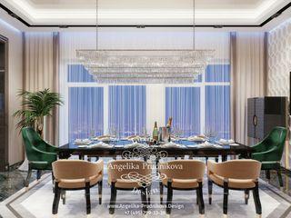 Дизайн-студия элитных интерьеров Анжелики Прудниковой Classic style dining room