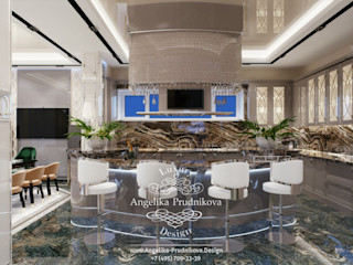 Дизайн-студия элитных интерьеров Анжелики Прудниковой Classic style kitchen