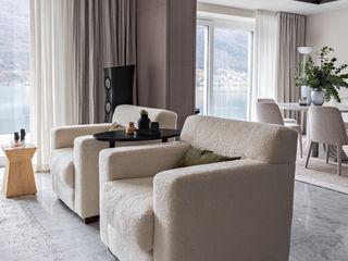 Casa per amanti del suono MD Creative Lab - Architettura & Design Soggiorno moderno