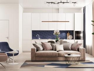 GM-interior Salon minimaliste Beige