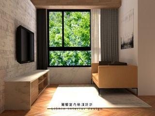 dekorasi rumah Taiwan LiShin desain interior Kamar Tidur Gaya Asia Kayu Wood effect