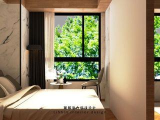 dekorasi rumah Taiwan LiShin desain interior Ruang Media Gaya Asia Kayu Wood effect