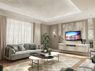 Eyüp Atalay Design Studio Modern Living Room