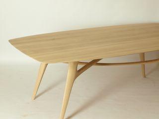 Esstisch aus Massiv - Holz Holzarbeiten André Findeisen Einbauküche Massivholz