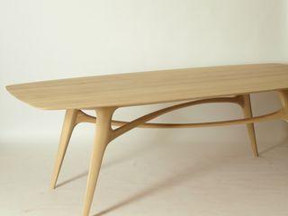 Esstisch aus Massiv - Holz Holzarbeiten André Findeisen Moderne Esszimmer Massivholz