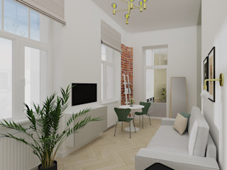 Better Home Interior Design Ruang Keluarga Gaya Eklektik