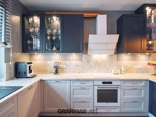 Granit o jasnej barwie GRANMAR Borowa Góra - granit, marmur, konglomerat kwarcowy KuchniaBlaty Granit Biały