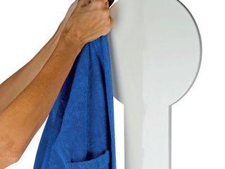 ANETO HEATER BATTHROBE RACK - MADE IN ITALY HOM WARM BathroomDecoration