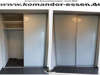 Einbauschränke nach Maß -Made in Essen NRW Komandor Essen Schiebetüren Studio Jarosch Siegfried AnkleidezimmerKleiderschränke- und kommoden