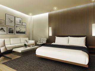 Gadi III + Architects 和風の 寝室