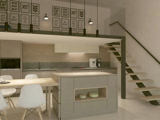 Kalya İç Mimarlık \ Kalya Interıor Desıgn Cozinhas modernas Madeira Acabamento em madeira