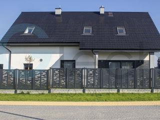 Gaskomtech Casas unifamiliares Metal Gris