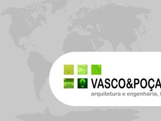 Vasco & Poças - Arquitetura e Engenharia, lda Industrial style study/office
