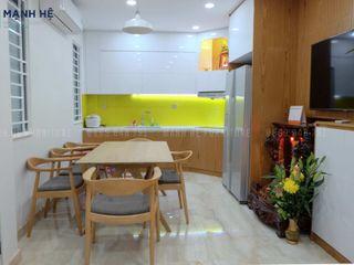 HOÀN THIỆN THI CÔNG NỘI THẤT NHÀ PHỐ NHỎ, ĐƠN GIẢN - ANH GIANG (Q.1) Công ty Cổ Phần Nội Thất Mạnh Hệ Bếp nhỏ