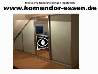 Einbauschränke nach Maß -Made in Essen NRW Komandor Essen Schiebetüren Studio Jarosch Siegfried ArbeitszimmerSchränke und Regale