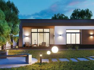 Компания архитекторов Латышевых 'Мечты сбываются' Casas de campo