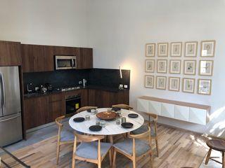 MOKALI Carpintería Residencial KeukenOpbergen Hout Bruin