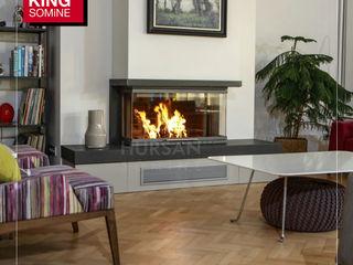 Kİng Şömine SalonCheminées & accessoires Granite Gris