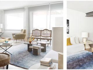 036. FROM FACTORY TO A HOUSE Abrils Studio Salones de estilo ecléctico