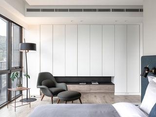 耀昀創意設計有限公司/Alfonso Ideas Scandinavian style walls & floors