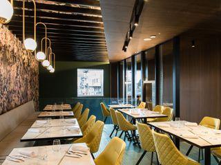 Bro pizzeria Studio Vesce Architettura Gastronomia in stile moderno