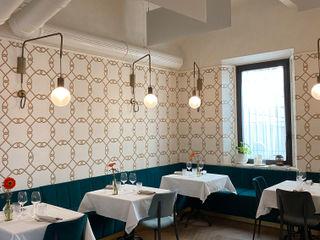 Ristorante Malaspina Federica Rossi Interior Designer Gastronomia in stile moderno