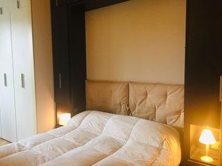 Studio di Architettura, Interni e Design Feng Shui Small bedroom Wood Beige