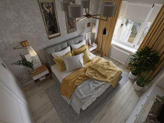 Design Studio Details Camera da letto eclettica