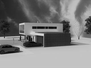 Neubau EFH | Projekt SJ a r c h i t e k t u r b ü r o grimm Einfamilienhaus