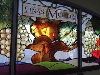 Vidrieras Artísticas para Bodegas Murillo Vidrieras Artisticas VITREX C.B. Bodegas Vidrio Naranja