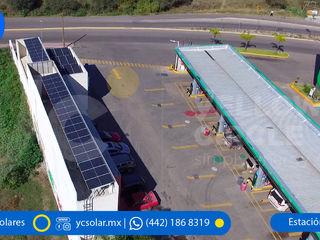 Yellow Circle Paneles Solares Edificios de oficinas de estilo moderno