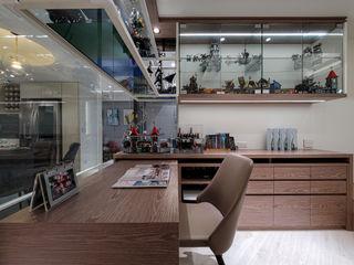 樂高的家 你你空間設計 書房/辦公室 Brown