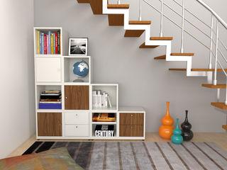 Arasta Design EstudioArmarios y estanterías Madera Blanco
