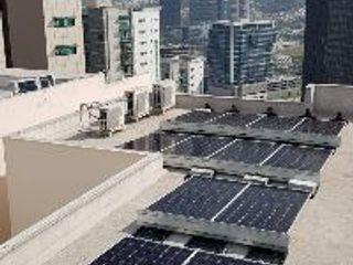 e21 : expertos solares Flat roof Concrete
