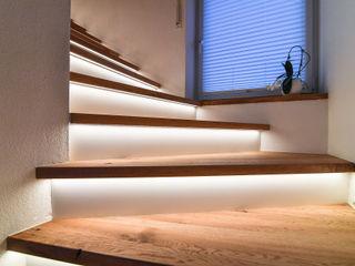 Treppenrenovierung edictum - UNIKAT MOBILIAR Treppe Granit Bernstein/Gold