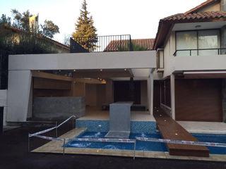 m2 estudio arquitectos - Santiago Piscinas de estilo moderno