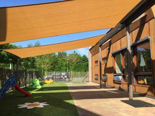ZONZ sunsails Ecoles modernes Plastique Beige