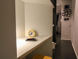 ibedi laboratorio di architettura Small bedroom Wood Yellow