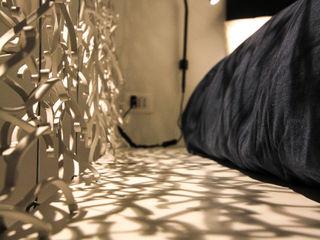 ibedi laboratorio di architettura Small bedroom Wood Blue